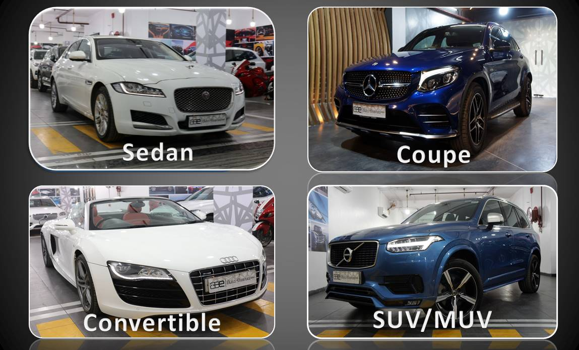 Difference Between Sedan Coupe Convertible Suv Muv Car Body Styles Abe
