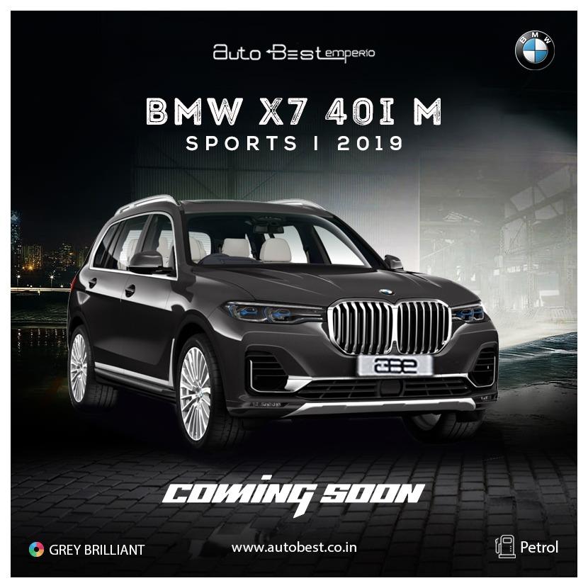 BMW X7 40-I X-DRIVE M-SPORT