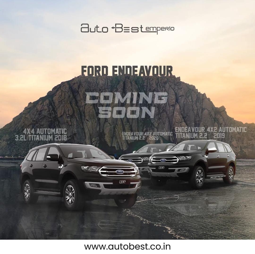 Ford ENDEAVOUR TITANIUM 4*2 AT