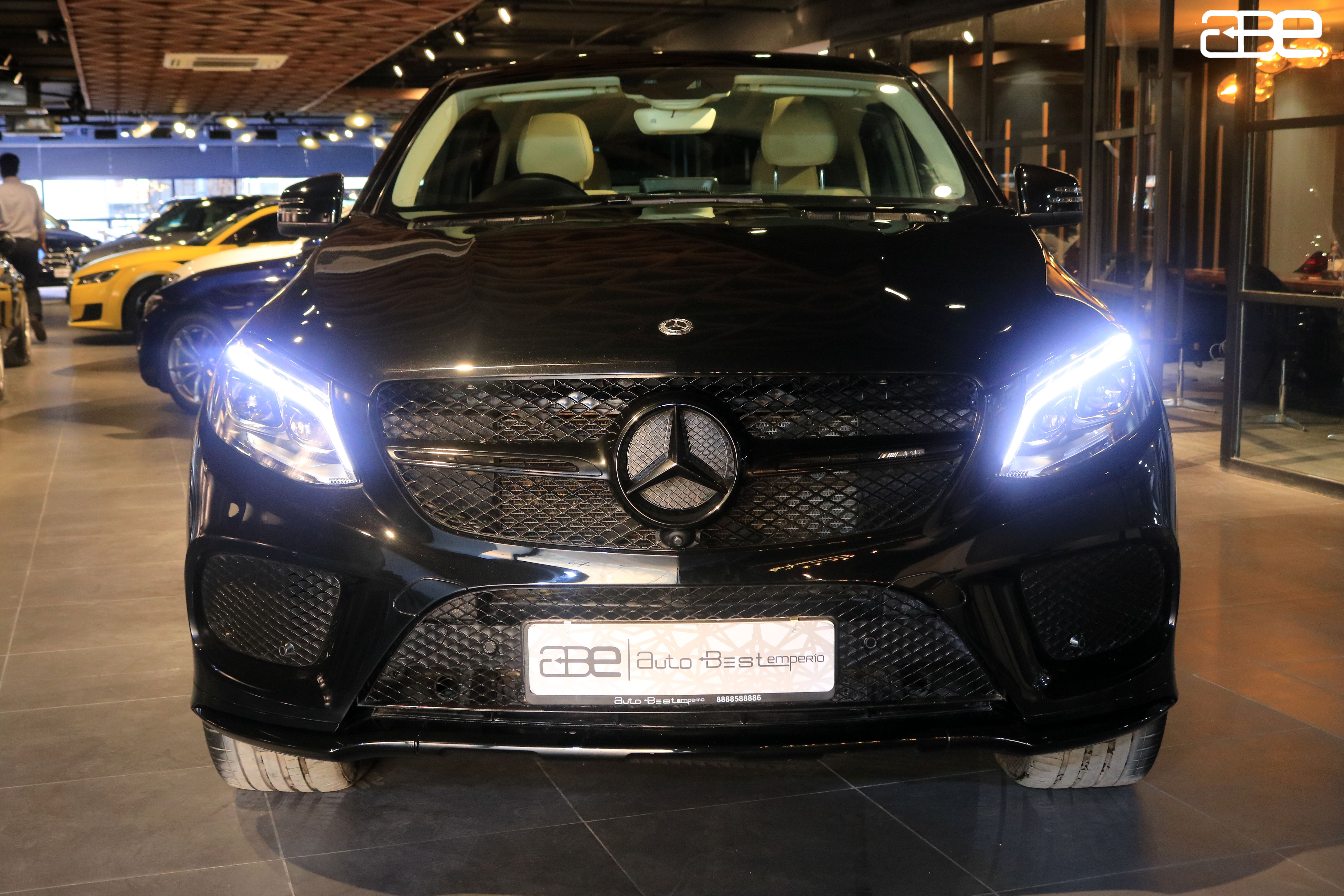 Mercedes-Benz GLE-COUPE 43 AMG